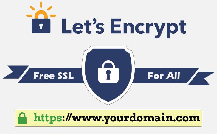 Let's encrypt logotipo